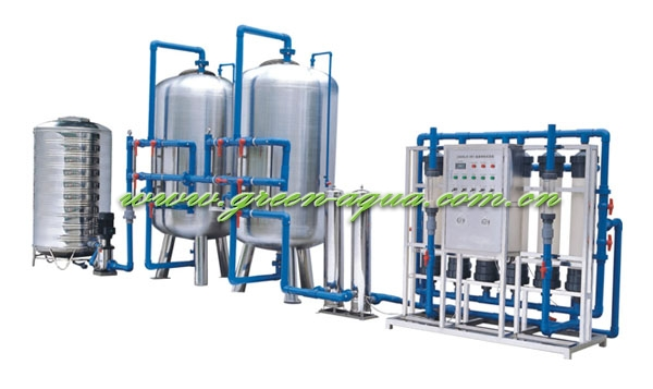 Mineral Water plant/8T/H