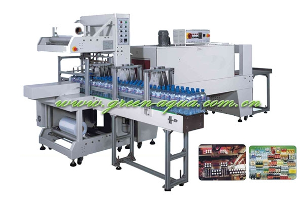 automatic shrinking wrapper/5-8pkgs/minute