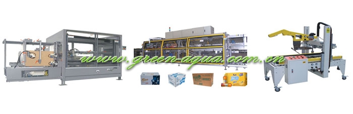 High Capacity Carton Packing Line